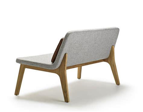 Modern Leather Loveseats Gamfratesi Design Lean Small Sofa