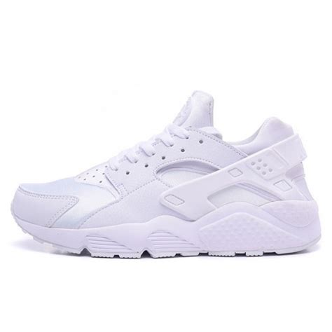 nike air huarache all white sneakers shoes sale