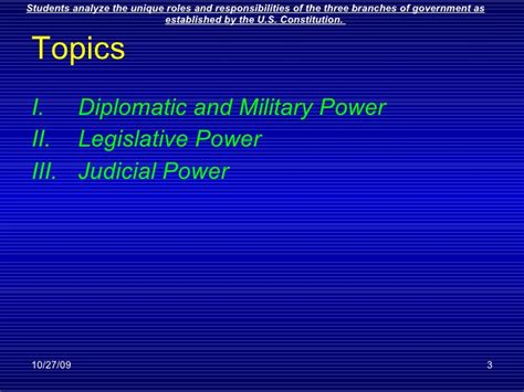 chapter 14 section 3 diplomatic and military powers executive powers ch 14 part 2