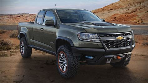 concept off road truck chevrolet colorado zr2 concept off road trucks never look
