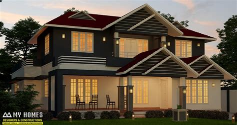 modern kerala house plan 2700 sq ft 28 2700 sq feet kerala home fusion type home 2700