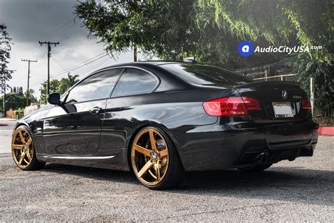 bmw 335is wheels 2011 bmw 335is 20 quot str wheels 607 gold platted