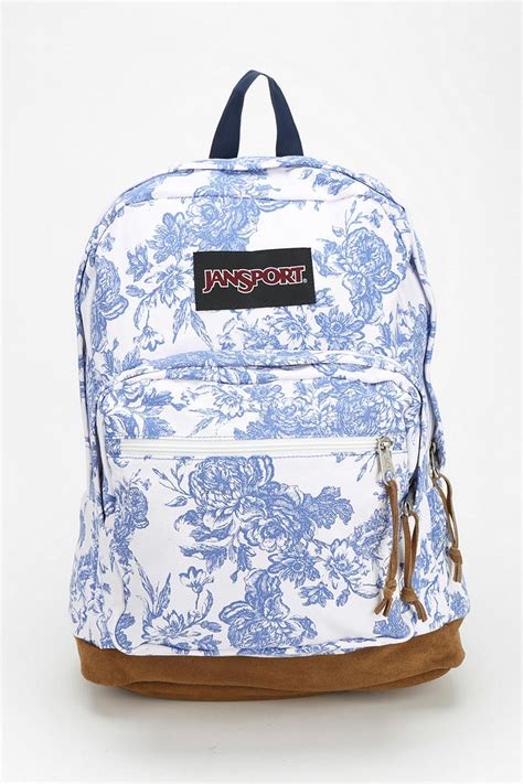 Tas Jansport Floral lyst jansport right pack expressions backpack