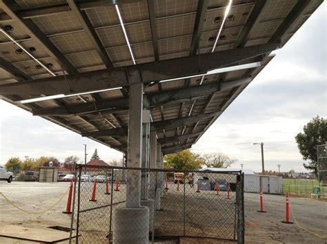 Carport Structures River Middle School Wheatland Ca Solar Carport