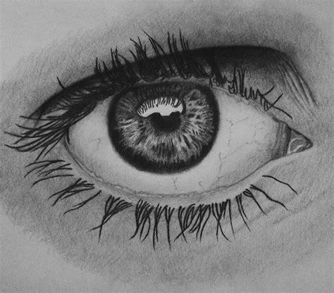 dibujo de ojo con lagrima realizado con lapices de grafito dibujo de ojo con lapices de grafito ariel esteban art