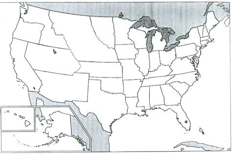 a blank map of the united states blank map of united states 1860