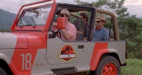 Jurassic Park 1 Jeep On Screen Cars