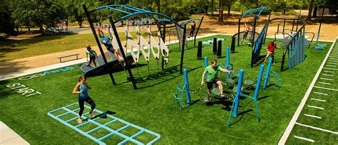 backyard fitness equipment move over kids this is a playground for adults voice of