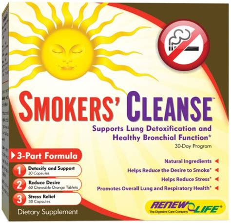 Cigarette Detox Cleanse by Nicotine Cleansing Diet Crewnews