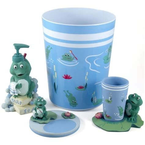 Frog Bathroom Accessories Cutest Frog Bathroom Decor