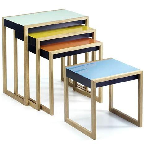 table gigogne modern history bauhaus nesting tables artisan crafted iron furnishings and decor