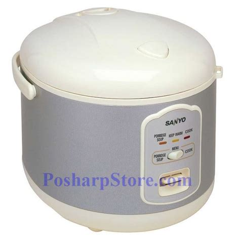 Rice Cooker Sanyo sanyo ecj n55w 5 5 cup electronic rice cooker steamer