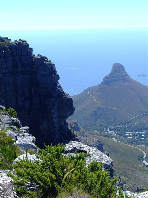 table mountain hike blue light district