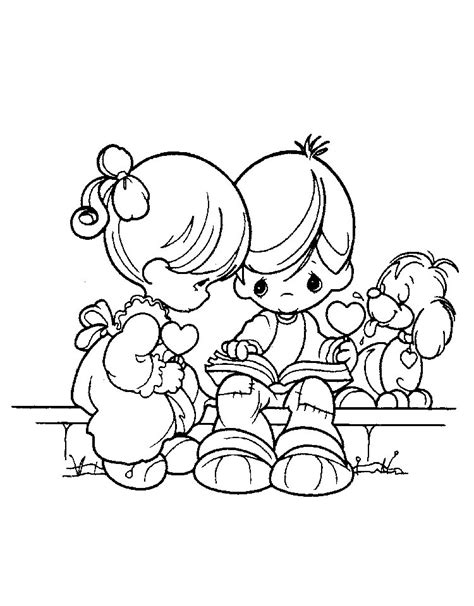 coloring pages precious moments az coloring pages