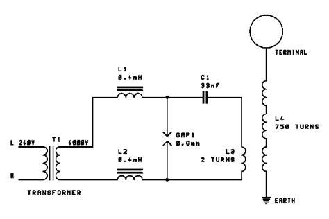 Tesla Coil Circuit Teralab Small Tesla Coil