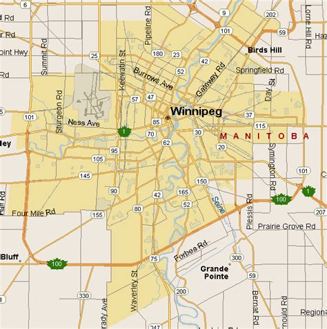 winnipeg canada map related keywords suggestions for winnipeg map