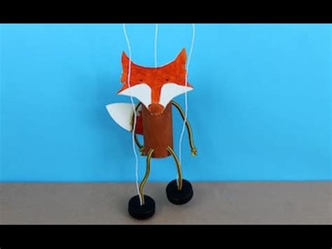 How To Make A Paper Fox Puppet - easy craft how to make a fantastic mr fox puppet