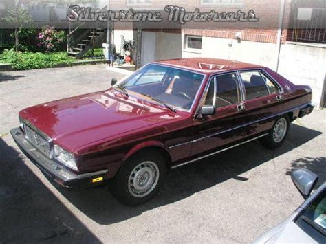 1985 maserati quattroporte 1985 maserati quattroporte for sale 6492 mcg