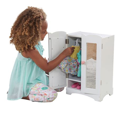 kidkraft doll armoire kidkraft wooden doll furniture lil doll armoire kidkraft