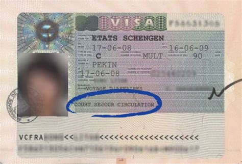 Lettre Visa De Circulation Term Business Visa For Europe Circulation Visa