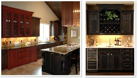 black and wood kitchen cabinets colorful painted kitchen cabinet ideas decorating and