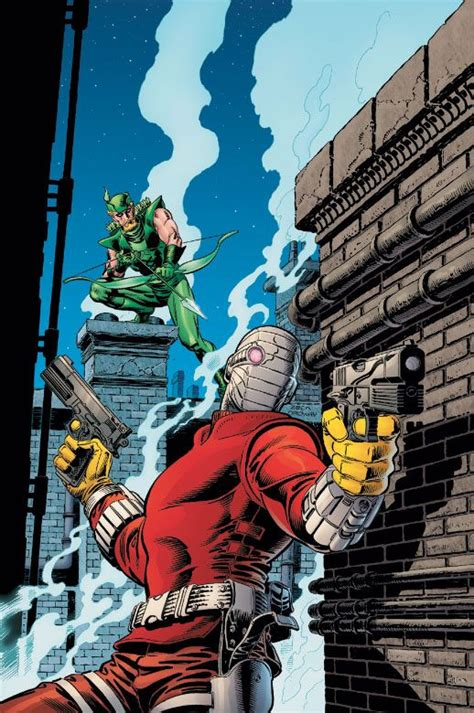 dc universe by mike green arrow vs deadshot by mike zeck deadshot green arrow and arrow