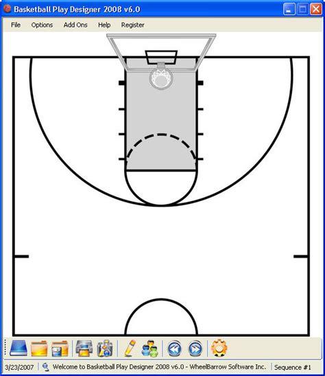 design your own basketball court basketball play sheets vertola