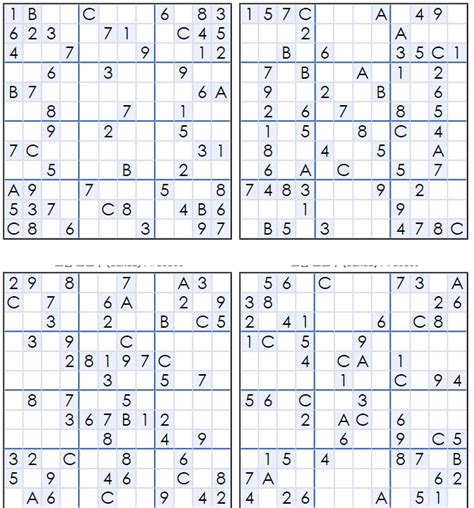 printable easy sudoku 4 per page 4 best images of medium printable sudoku puzzles 4 per