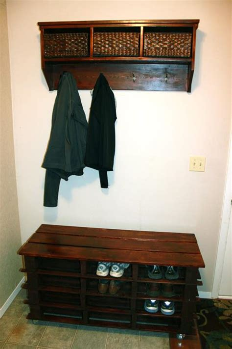 pallet shoe storage make a statement with ultimate pallet furniture pallets