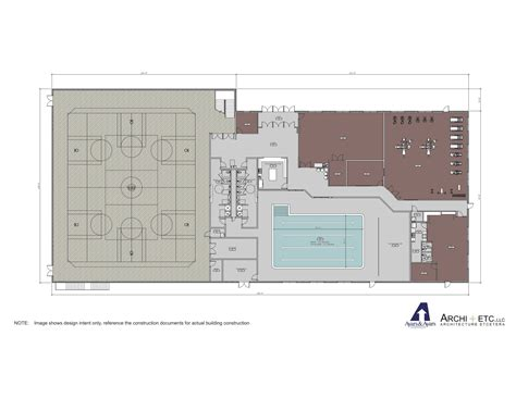recreation center floor plans 28 community center floor plan 187 recreation