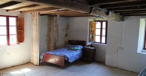 making a garage into a bedroom inside the spanish ghost villages you can buy for 163 50 000