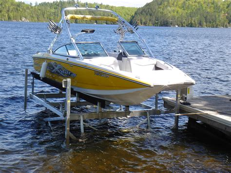j dock boats cantilever boat lifts r j machine