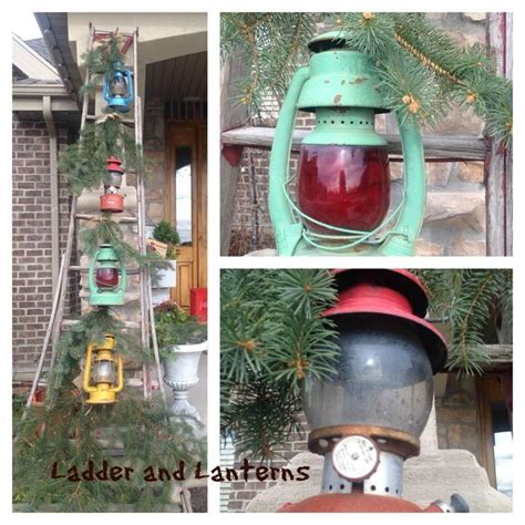 how to fix a leaning christmas tree dressing up that ladder for hometalk