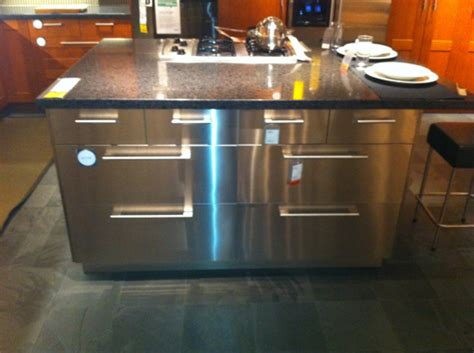 stainless steel kitchen islands ikea stainless steel kitchen island flickr photo