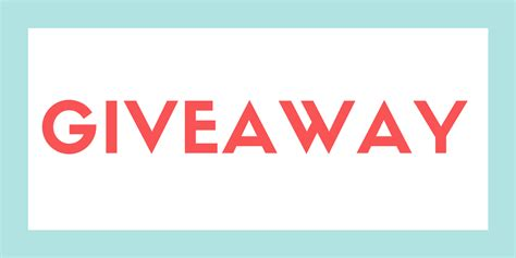 Blog Giveaway - giveaway kids email blog