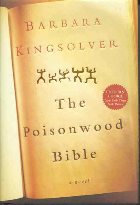book review the poisonwood bible by barbara kingsolver global text