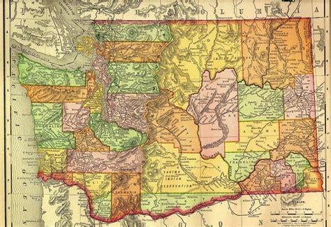 map of washington state washington land surveyors lsaw land surveyors united