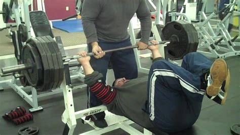 back bench press staley training systems flat back feet up long pause