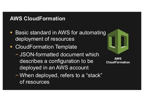 Modern Security And Compliance Through Automation Aws Cloudformation Validate Template
