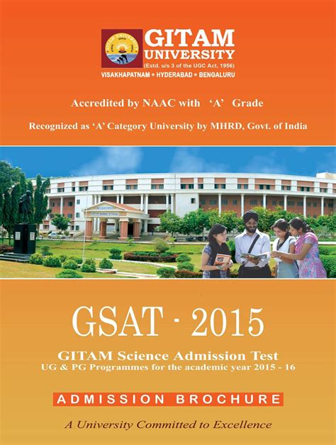Gitams Vizag Mba by Gitam Visakhapatnam Admissions Contact Website