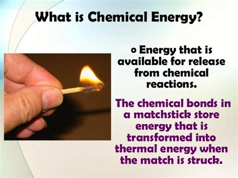 what type of energy is light types of energy ppt