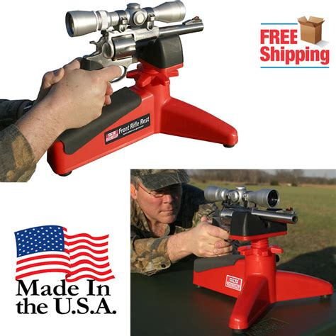 portable bench rest shooting stand rifle rest shooting bench gun pistol stand range target