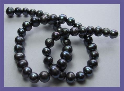 Pearl String 05 string of black pearls 182 05 ct 38cm catawiki