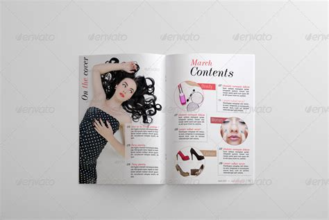 templates for magazine pages 24 pages fashion magazine template by bagera graphicriver