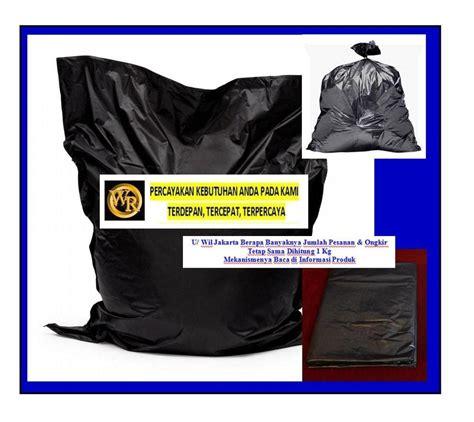 Harga Plastik Uv Hitam jual kantong plastik kresek hitam besar 60 x100 untuk