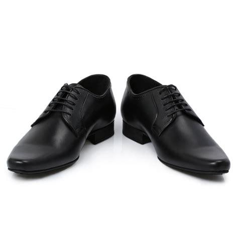 hudson larkin black leather brogue mens smart shoes size 7