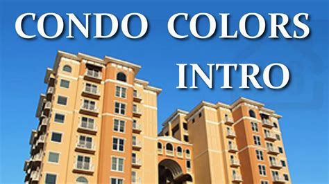 picking exterior paint colors for condos condo board
