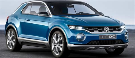 volkswagen  roc   cross concepts
