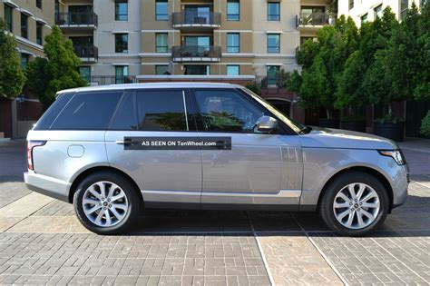 2013 range rover hse package front rear climate vision