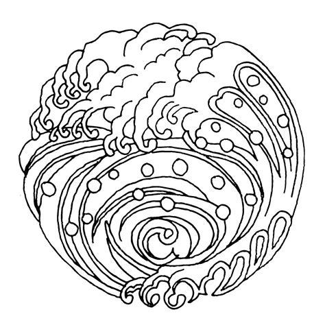 imagenes de mandalas japoneses mandalas para pintar mandala olas